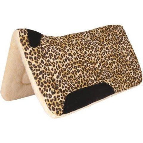 Mustang Contoured Cheetah Saddle Pad 1565