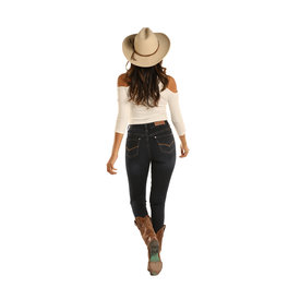 Rock and Roll Cowgirl Women's Rock & Roll Cowgirl High Rise Skinny Jean WHS3440