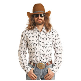 Rock & Roll Cowboy Men's Rock & Roll Cowboy Snap Front Shirt B2S3078