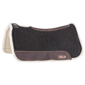 "Classic Equine Zone Felt/ Fleece 1"" Saddle Pad 31""X32"""
