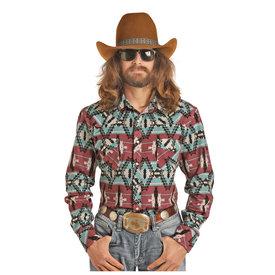 ROCK&ROLL COWBOY Men's Dale Brisby by Rock & Roll Cowboy Snap Front Shirt B2S2323