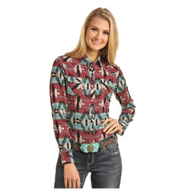 Rock and Roll Cowgirl Women's Dale Brisby by Rock & Roll Cowgirl Snap Front Shirt B4S2323