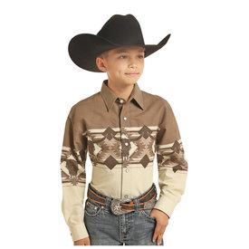 Panhandle Boy's Panhandle Snap Front Shirt C0S3053