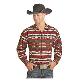 Panhandle Men's Powder River Snap Front Shirt 36X3038
