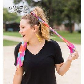 Crazy Train Women's Crazy Train Dye Hard Head Scarf