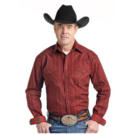 Panhandle Men's Rough Stock Snap Front Shirt R0S3179