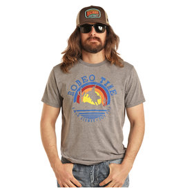 Rock and Roll Cowgirl Men's Dale Brisby by Rock & Roll Cowboy T-Shirt P9-3015