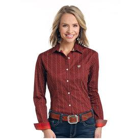 Panhandle Women's Rough Stock Button Down Shirt R4B3179