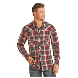Rock & Roll Cowboy Men's Rock & Roll Cowboy Snap Front Shirt B2S3082