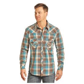 Rock & Roll Cowboy Men's Rock & Roll Cowboy Snap Front Shirt B2S3072