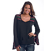 Women's Rock & Roll Cowgirl Blouse B4-5369 C6 Large