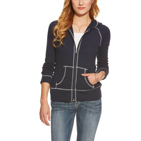 Women's Ariat Miranda Zip Hoodie 10015967 C3 Medium
