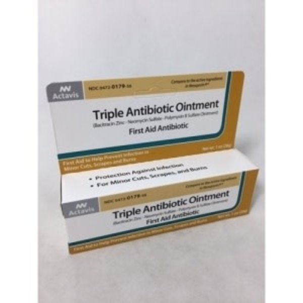 Actavis Triple Antibiotic Ointment