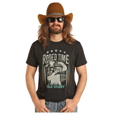 Men's Dale Brisby by Rock & Roll Cowboy T-Shirt P9-3012