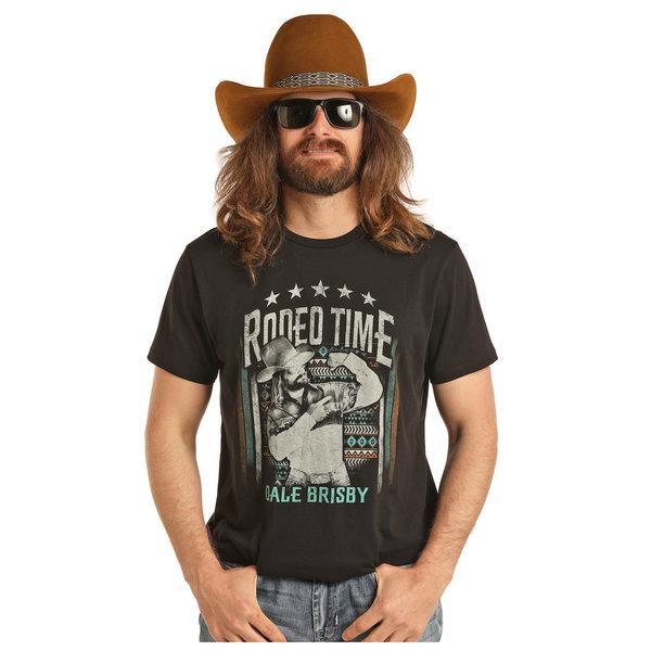 Dale Brisby Men's Dale Brisby by Rock & Roll Cowboy T-Shirt P9-3012