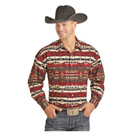 POWDER RIVER OUTFITTERS Men's Powder River Snap Front Shirt 36S3038