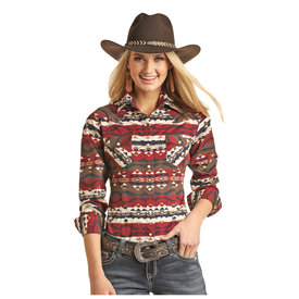 POWDER RIVER OUTFITTERS Women's Powder River Snap Front Shirt 22S3038