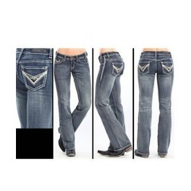 Rock and Roll Cowgirl Women's Rock & Roll Cowgirl Riding Jean  W7-3643 C5 26X34