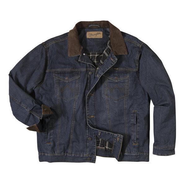 Wrangler Men's Wrangler Concealed Carry Blanket Lined Denim Jacket 74265CD