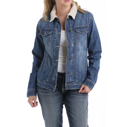 Women's Cinch Lined Trucker Jacket MAJ9878001