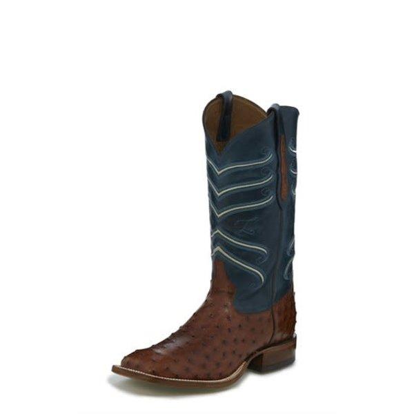 Tony Lama Men's Amell Full Quill Ostrich Boot