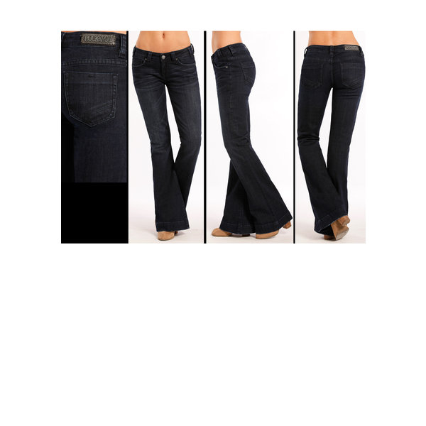 Rock and Roll Cowgirl Women's Rock & Roll Cowgirl Trouser W8-8486