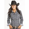 Women's Rough Stock Snap Front Shirt R4S8019 C4 Large