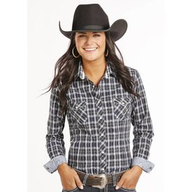 Panhandle Women's Rough Stock Snap Front Shirt R4S8019 C4 Large
