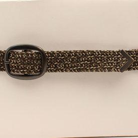 M&F Western Men's 3D Belt Co. Western Belt DRB259 C5