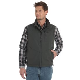 Wrangler Men's Wrangler Conceal Carry Trail Vest MJK18CH C4 Small