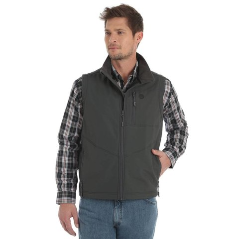 Men's Wrangler Conceal Carry Trail Vest MJK18CH C4 Small