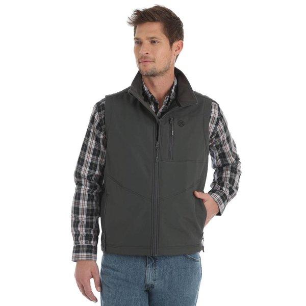 Wrangler Men's Wrangler Conceal Carry Trail Vest MJK18CH C4 Small