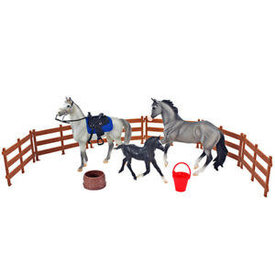 Breyer Horses Classic Heroes of the West Playset