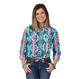 Wrangler Women's Wrangler Snap Front Shirt LW5117M