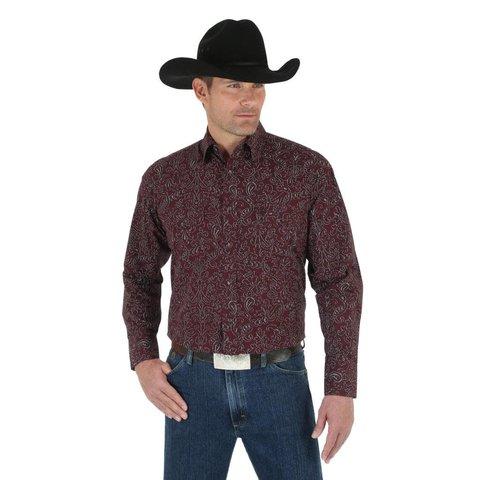 Men's Wrangler George Strait Snap Front Shirt C4 2XLT