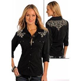 Panhandle Women's Panhandle Snap Front Shirt 22S9357 C3 2XL