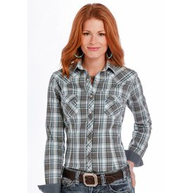 Panhandle Women's Rough Stock Snap Front Shirt R4S9298 C3 2XL