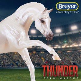Breyer Horses Thunder Denver Broncos Team Mascot