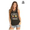 Women's Dale Brisby by Rock & Roll Cowgirl Tank 49-4469