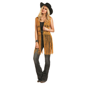 Rock and Roll Cowgirl Women's Rock & Roll Cowgirl Crochet Vest 49V4456