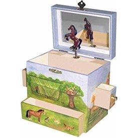 Breyer Horses Ranch Jewelry Box B1023