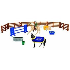 Breyer Horses Stablemates English Playset 6027