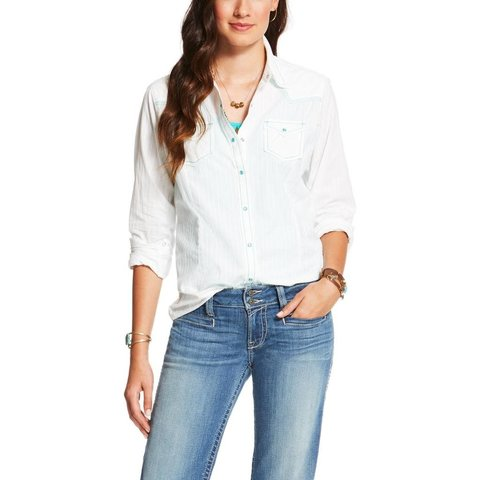 Women's Ariat Betty Snap Front Shirt 10020366 C3 Large