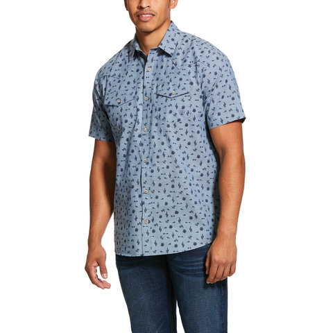 Men's Ariat Jynwood Retro Snap Front Shirt 10030725