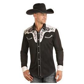 Rock & Roll Cowboy Men's Rock & Roll Cowboy Snap Front Shirt B2S3093