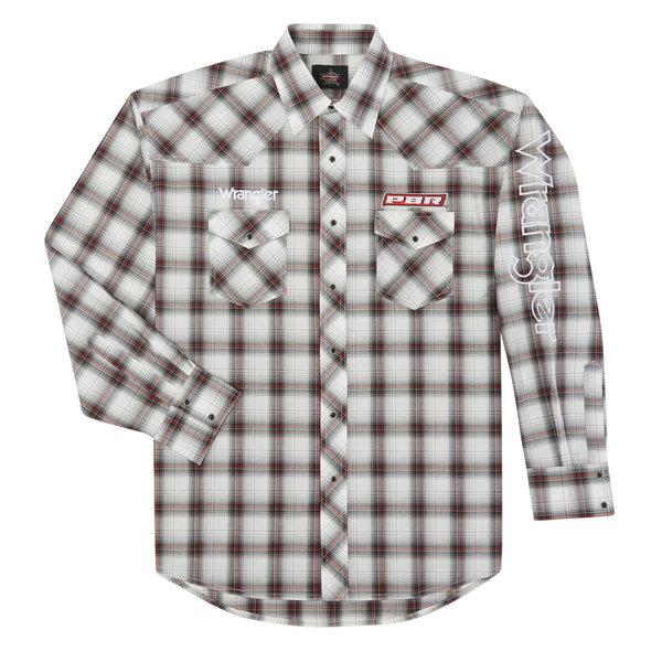 Wrangler Men's Wrangler Logo Snap Front Shirt MHS236M