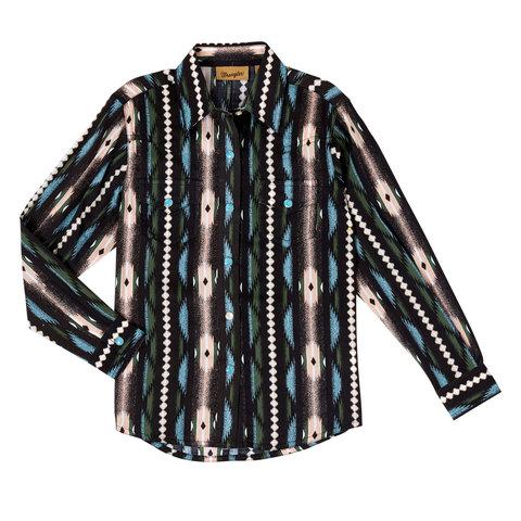 Girl's Wrangler Snap Front Shirt GW5125M