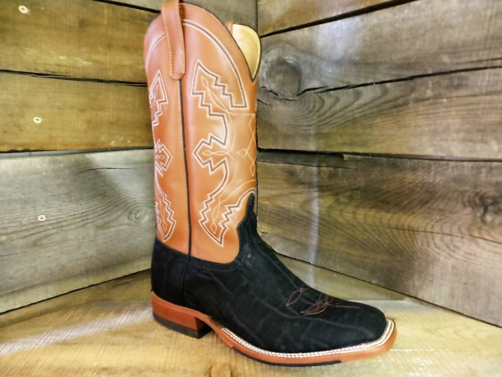 Anderson Bean Custom Black Elephant Boots 7570z Corral