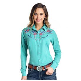 Panhandle Women's Rough Stock Snap Front Shirt R4F4005