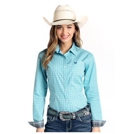 Panhandle Women's Rough Stock Snap Front Shirt R4B4010